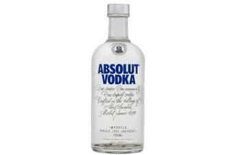 Absolut Vodka Premium 700ml - 1 Bottle