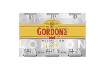 Gordons Gin & Tonic Cans 375ml - 6 Pack