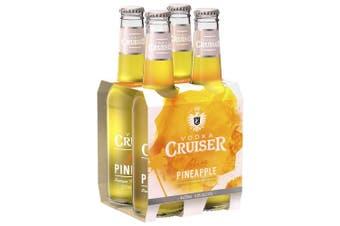 Vodka Cruiser Pure Pineapple 275ml - 4 Pack