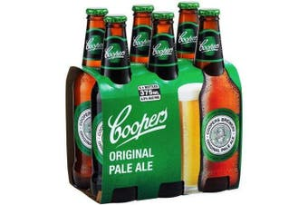 Coopers Pale Ale 345ml Stubbies - 6 pack
