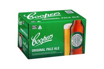 Coopers Pale Ale 345ml Stubbies - 24 Pack