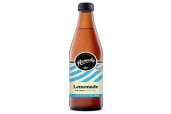 Remedy Kombucha Soda Lemonade Bottles 330ml x 12