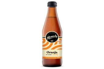 Remedy Kombucha Soda Oranja Bottles 330ml x 12