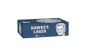 Hawke's Lager Cans 375ml - 24 Pack