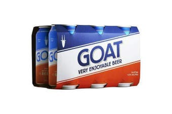 Mountain Goat Very Enjoyable Lager Beer 375ml - 6 Pack
