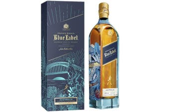 Johnnie Walker Blue Label Australian Edition Blended Scotch Whisky 750ml