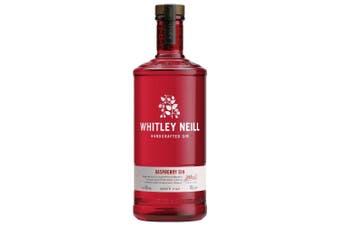Whitley Neill Raspberry Gin 700ml - 1 Bottle