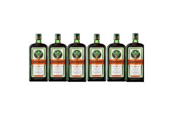 Jagermeister Herbal Liqueur 1L - 6 Pack