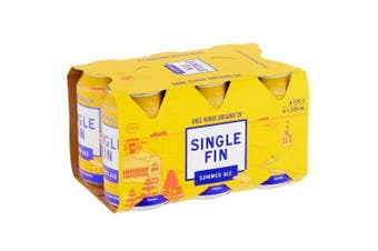 Gage Roads Single Fin Summer Ale Beer Cans 330ml - 6 pack