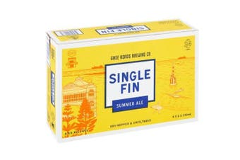 Gage Roads Single Fin Summer Ale Beer Cans 330ml - 24 Pack
