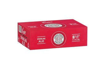 Coopers Sparkling Ale Cans 375mL - 24 Pack