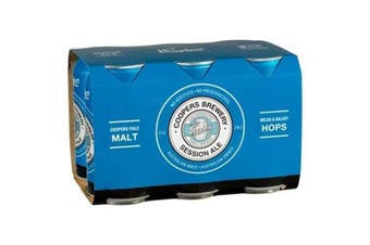 Coopers Session Ale Can 375mL - 6 Pack
