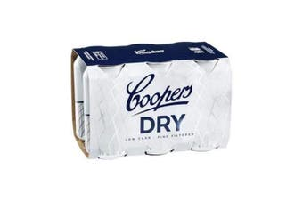 Coopers Dry Cans 375ml - 6 Pack