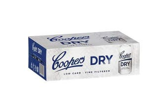 Coopers Dry Cans 375ml - 24 Pack