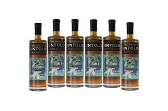 Untold Spiced Rum 700ml - 6 Pack
