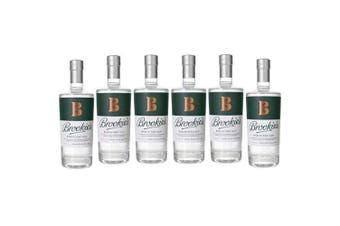 Brookies Dry Gin 700ml - 6 Pack