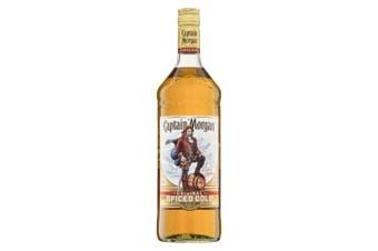 Captain Morgan Spiced Rum 1L - 1 Bottle