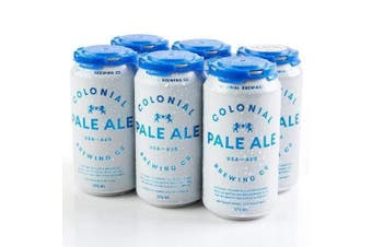 Colonial Brewing Co. Pale Ale Can 375ml - 6 Pack