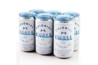Colonial Brewing Co. Small Ale Can 375ml - 6 Pack