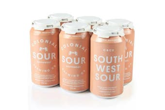 Colonial Brewing Co. South West Sour Can 375ml - 6 Pack
