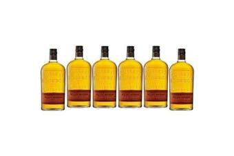 Bulleit Frontier Kentucky Straight Bourbon Whisky 700ml - 6 Pack