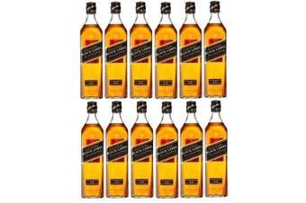 Johnnie Walker Black Scotch Whisky 700ml - 12 Pack