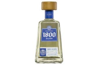 1800 Silver Tequila 700ml - 1 Bottle
