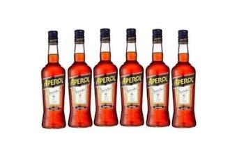 Aperol Spritz Summer Cocktail 700ml - 6 Bottles