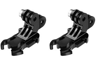 TELESIN Double J-Hook Buckle (2-Pack) | For GoPro/DJI Osmo Action Cameras