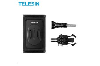 TELESIN Backpack Strap Mount | with Double J-Hook Buckle