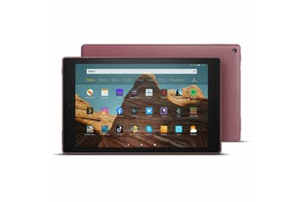 Amazon Fire HD 10 2019 2GB Ram 32GB Rom 10.1 1080P Tablet - Plum