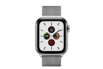 Apple Watch Series 5 (GPS+Cellular) 40mm Stainless Steel Case Milanese Loop