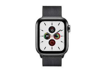 Apple Watch Series 5 (GPS+Cellular) 40mm Space Black Steel Case Milanese Loop