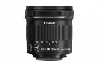 CANON EF-S 10-18mm f/4.5-5.6 IS STM Camera Lens