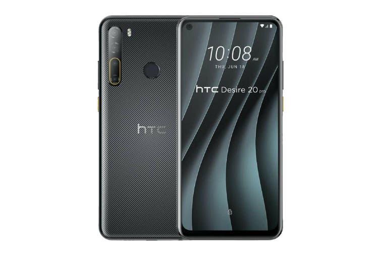 HTC Desire 20 Pro 6GB Ram 128GB Rom Dual Sim - Black
