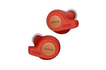Jabra Elite Active 65t True Wireless Headphones - Copper Red