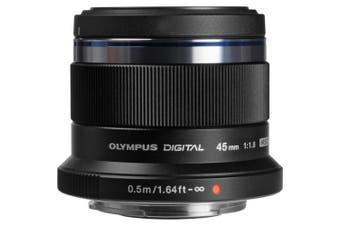 Olympus M.Zuiko Digital 45mm F1.8 - Black
