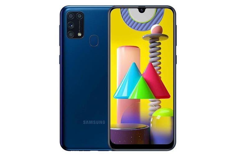 Dick Smith | Samsung Galaxy M31 M315FD 6GB Ram 128GB Rom Dual Sim - Blue |  Smartphones » Android Phones