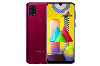 Samsung Galaxy M31 M315FD 6GB Ram 128GB Rom Dual Sim - Red