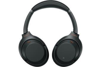 Sony WH-1000XM3 Wireless Noise Canceling Over-Ear Headphones - Black