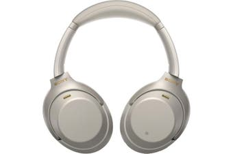 Sony WH-1000XM3 Wireless Noise Canceling Over-Ear Headphones - Silver