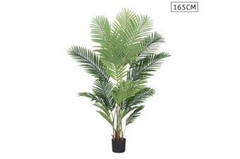SOGA 165cm Artificial Swallowtail Sunflower Fake Decoration Tree Flower Pot Plant