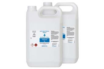 2X 5L Standard Grade Disinfectant Anti-Bacterial Alcohol