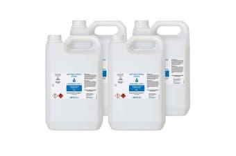 4X 5L Standard Grade Disinfectant Anti-Bacterial Alcohol