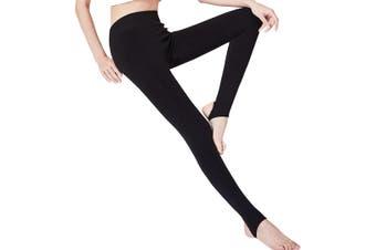 Warm Winter Thick High Waist Slim Skinny Women Leggings Stretchy Pants Black
