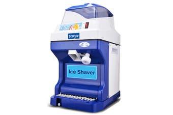 SOGA Commercial Ice Shaver Ice Crusher Slicer Smoothie Maker Machine 180KG/h