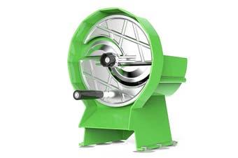 SOGA Commercial Manual Vegetable Fruit Slicer Kitchen Cutter Machine Green