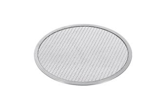 SOGA 8-inch Round Seamless Aluminium Nonstick Commercial Grade Pizza Screen Baking Pan