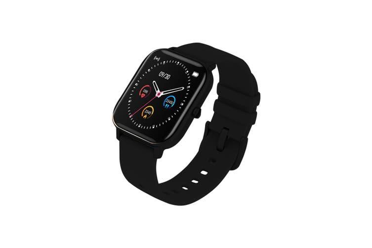 SOGA Waterproof Fitness Smart Wrist Watch Heart Rate Monitor Tracker P8 Black