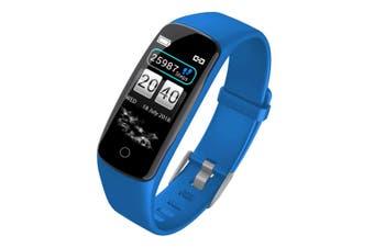 SOGA Sport Monitor Wrist Touch Fitness Tracker Smart Watch Blue